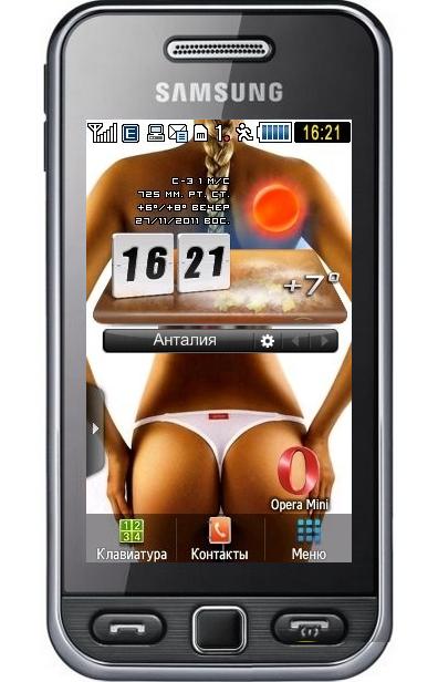 Характеристики телефона Samsung GT-S5230 Star